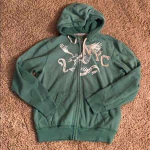 American Eagle men's hooded jacket -Size L